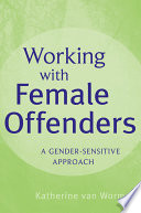 download ebook working with female offenders pdf epub