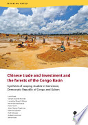 Chinese trade and investment and the forests of the Congo Basin