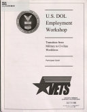U S Dol Employment Workshop
