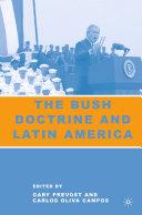 download ebook the bush doctrine and latin america pdf epub