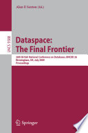 Dataspace The Final Frontier