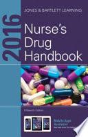 2016 Nurse S Drug Handbook book