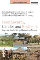 Food Security, Gender and Resilience