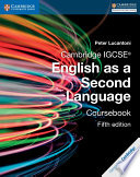 Cambridge IGCSE   English as a Second Language Coursebook