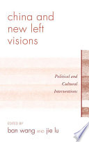 China and New Left Visions