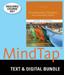 Fundamental Statistics for the Behavioral Sciences   Mindtap Psychology  2 Terms   12 Months Access Card