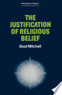 The Justification of Religious Belief