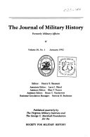 The Journal of Military History