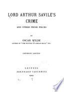 Lord Arthur Savile s Crime
