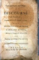 download ebook conjugal love and duty: a discourse upon hebrews xiii. 4 pdf epub