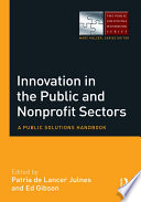 Innovation in the Public and Nonprofit Sectors