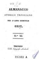 Almanacco Della Regia Citt    E Provincia Di Treviso