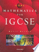 Core Mathematics For Igcse