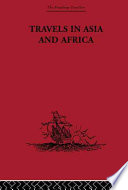 Travels in Asia and Africa  1325 1354