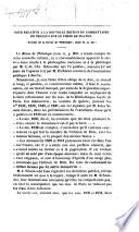 Note relative    la nouvelle   dition du commentaire de proclus sur le tim  e de Platon