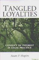 Book Tangled Loyalties