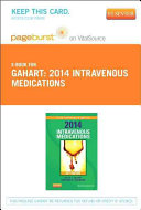 Intravenous Medications 2014 Pageburst On Vitalsource Access Code
