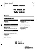 Glencoe Sci Earth Science Chapter 21 Our Impact on Water and Air Chp Res 519 02