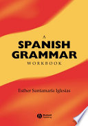 A Spanish Grammar Workbook