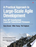A Practical Approach to Large Scale Agile Development