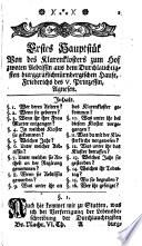 Sichere Nachrichten von Brandenburgculmbach oder dem Fürstenthume Des Burggrafthums Nürnberg oberhalb des Gebirges, mit Berührung dessen Grenzen