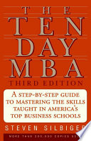 The Ten Day MBA 3rd Ed