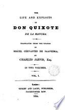 The Life and Exploits of Don Quixote de la Mancha,1