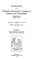 Pt I Section I Hygienic Microbiology And Parasitology Pt Ii Section Ii Dietetic Hygiene Hygienic Physiology