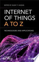 Internet Of Things A To Z : technologies, and applications internet of things a to...