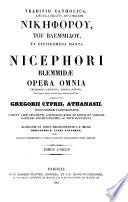 Patrologiæ cursus completus