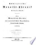 Schweizerische monats-chronik