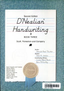 D Nealian handwriting