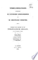 Verhandelingen over het gebruik van de schriften der Grieken en Romeinen tot de wetenschappelijke opleiding der jeugd