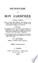 illustration Dictionnaire du bon jardinier