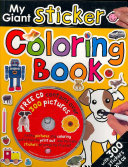 My Giant Sticker Coloring Book with CD 1