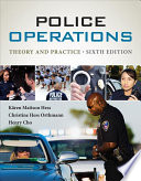 Police Operations  Theory and Practice