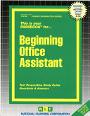 Beginning Office Assistant