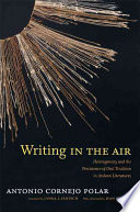 Writing in the Air