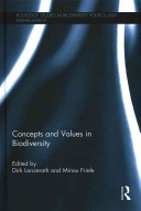Concepts and Values in Biodiversity