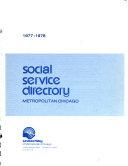 Social Service Directory Metropolitan Chicago