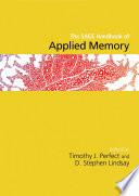 The SAGE Handbook of Applied Memory
