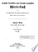 A Dictionary of the English and German, and the German and English Language: German and English