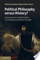 Political Philosophy versus History