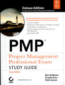 PMP PROJECT MANAGEMENT PROFESSIONAL EXAM STUDY GUIDE  2ND ED  With CD