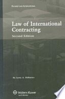 Law of International Contracting