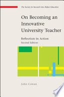 On Becoming An Innovative University Teacher  Reflection In Action