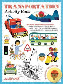 Transportation Activity Book : any child who loves all...