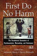 First Do No Harm : war
