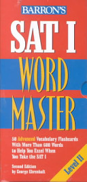 Barron s Sat I Word Master Level II