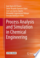 Process Analysis and Simulation in Chemical Engineering